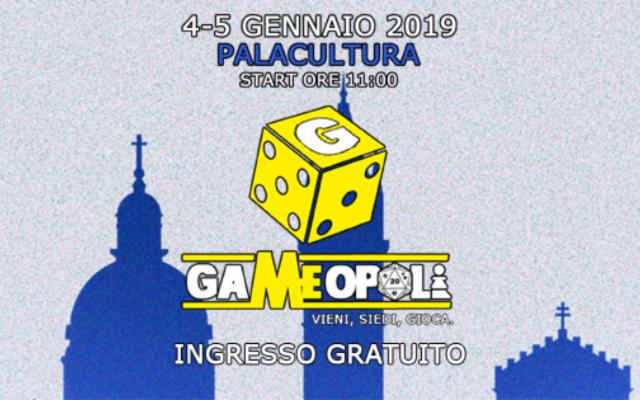 Gameopoli - Vieni, Siedi, Gioca