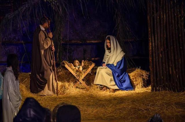 La Sacra Famiglia del Presepe vivente di Agira