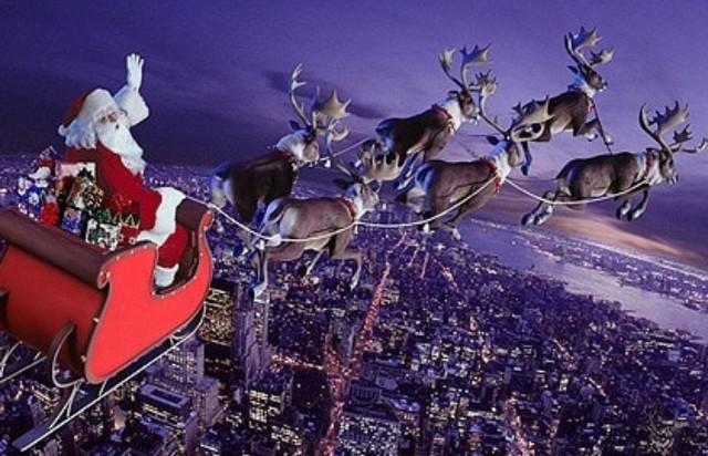 Nessuno sa come ha fatto il cavallo bianco di San Nicola a trasformarsi in un gregge di renne...