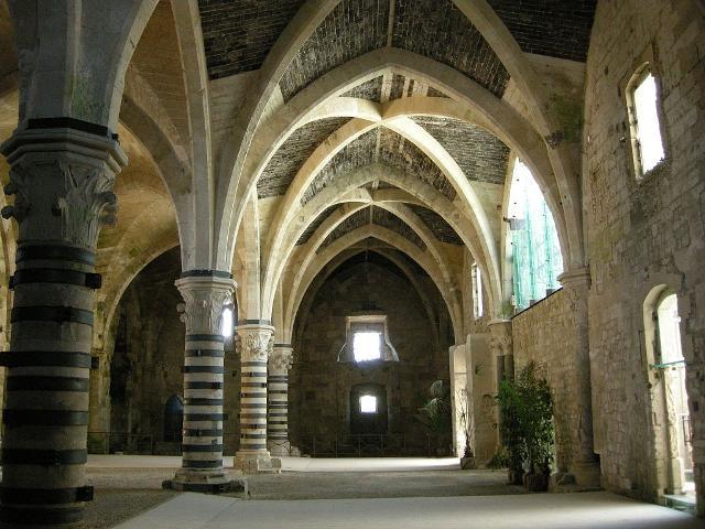 Sala interna Castello Maniace di Ortigia - ph I, Sailko