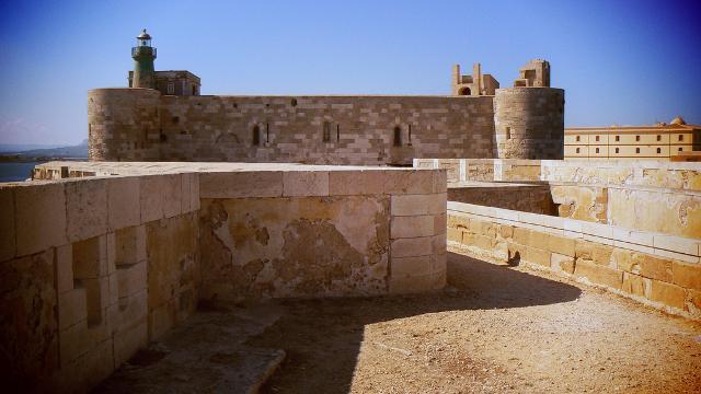Il Castello Maniace ad Ortigia - Siracusa | ph. Alessandro Bonvini