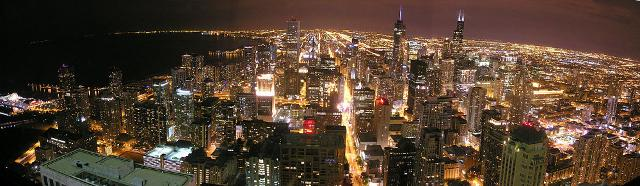 Chicago di notte - ph Lol19