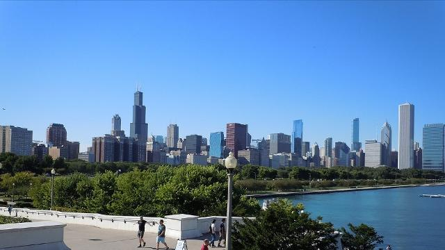Lo Skyline di Chicago