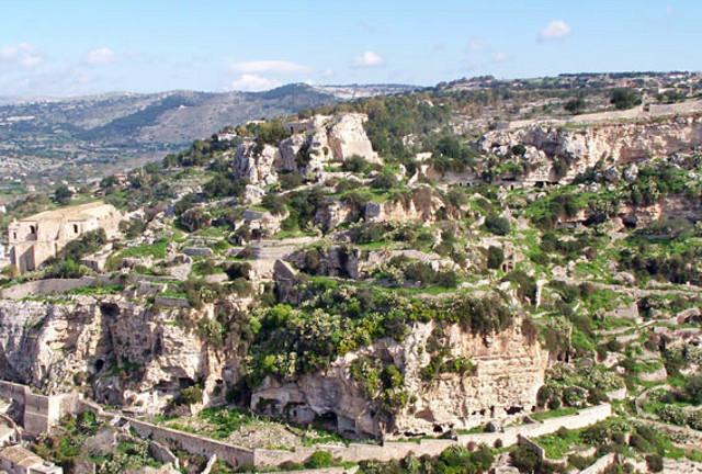 Collina di San Matteo a Scicli