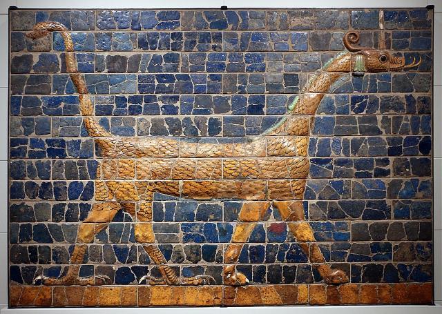 Drago Mushhushshu, simbolo del dio Marduk - ph Sailko