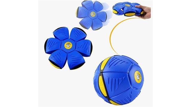 Arriva anche in Italia il nuovo frisbee che si trasforma in pallone e viceversa