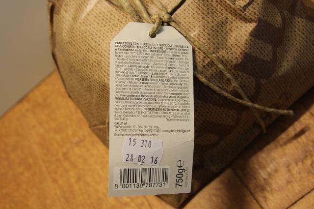 """Per acquistare il """"giusto"""" Panettone è importantissimo fare attenzione alle etichette"""
