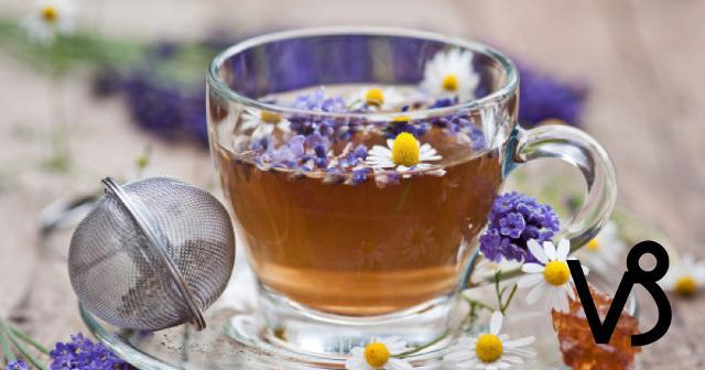 Per i Capricorno, un infuso alla camomilla, melissa e lavanda