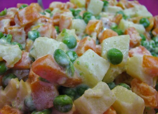Le pietanze maggiormente avanzate? L'insalata russa!
