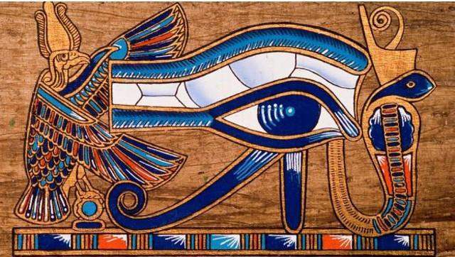 L'occhio di Horus, Dio egizio del Sole