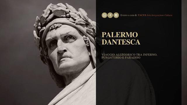 Palermo Dantesca. Inferno, Purgatorio, Paradiso