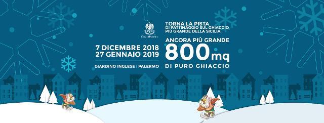 """""""Palermo on Ice"""" riapre i battenti fino al prossimo 27 gennaio"""