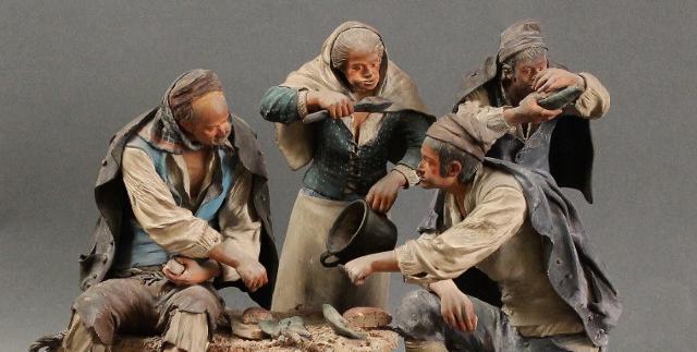 Pastori in ceramica di Caltagirone