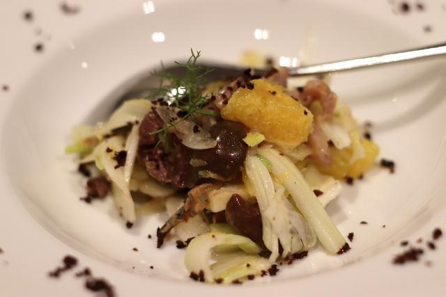 L'insalata Siciliana del PerciaSacchi di Palermo