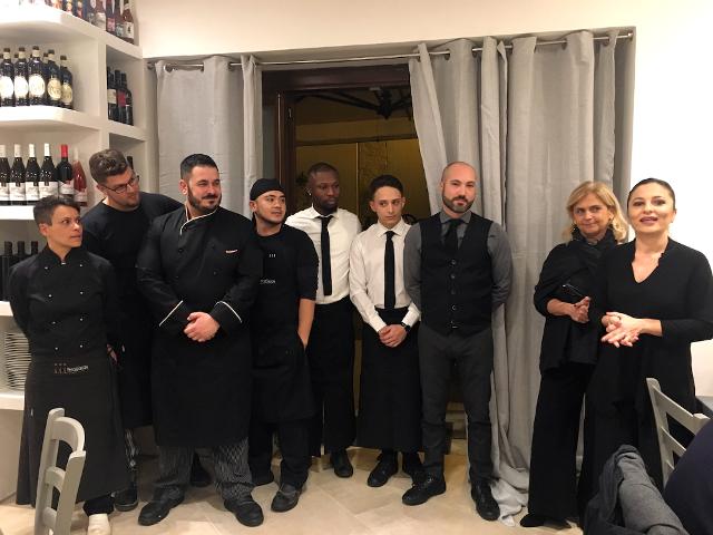 Il team del PerciaSacchi di Palermo
