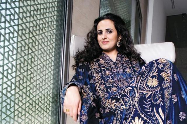 La principessa del Qatar Sheikha Al Mayassa bint Hamad bin Khalifa Al Thani