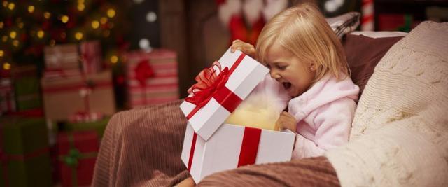 Il dono, quello vero, deve essere legato all'istintivo desiderio di condividere con il vostro bambino la gioia di appartenersi...