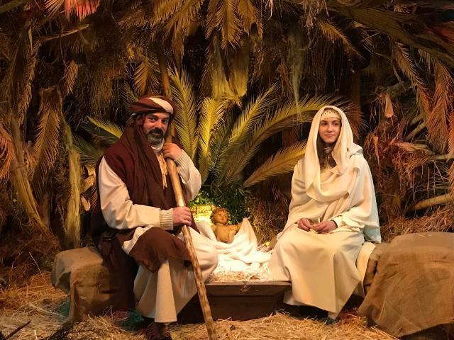 La Natività nel Presepe vivente di Castanea