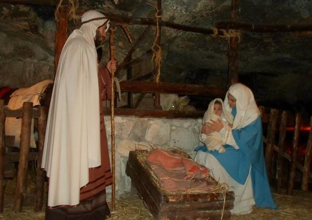 Natività del Presepe Vivente di Monterosso Almo