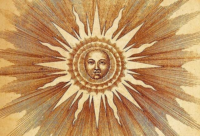 Incisione del Dies Natalis Solis Invicti (Giorno della nascita del Sole Invitto)