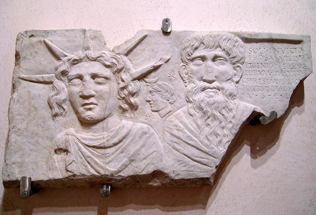 Sol Invictus e Jupiter (Museo nazionale romano)