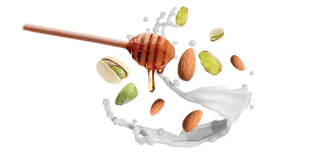 Il successo del Torrone di Caltanissetta è anche merito dell'eccellente qualità delle materie prime utilizzate, tutte provenienti dal ricco territorio circostante: le mandorle, i pistacchi e l'ottimo miele.