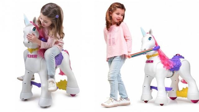 My Lovely Unicorn, nella nuova versione a batterie con i corni che si illuminano al tatto
