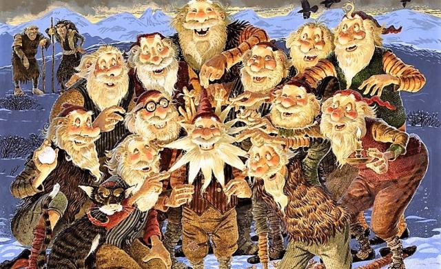 In Islanda la tradizione degli Yule Lands è il sogno di tutti i bambini...