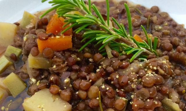 Zuppa di Lenticchie di Ustica