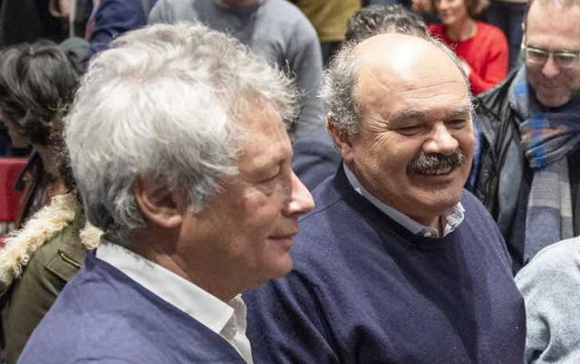 Alessandro Baricco e Oscar Farinetti