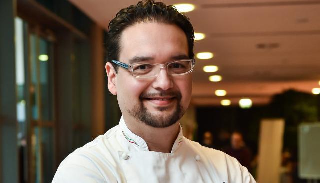 Lo chef e gelatiere Antonio Mezzalira