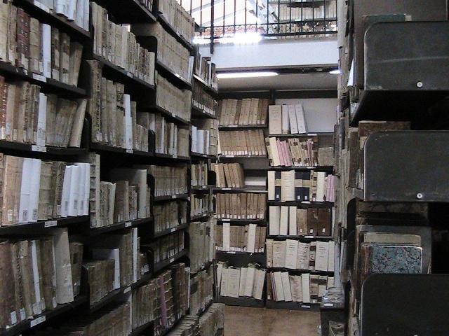 Deposito libri antichi della Biblioteca Liciniana a Termini Imerese - ph Enzian44