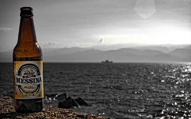 Una Birra Messina in riva al mare
