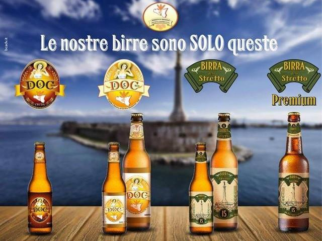 Le birre del Birrificio Messina