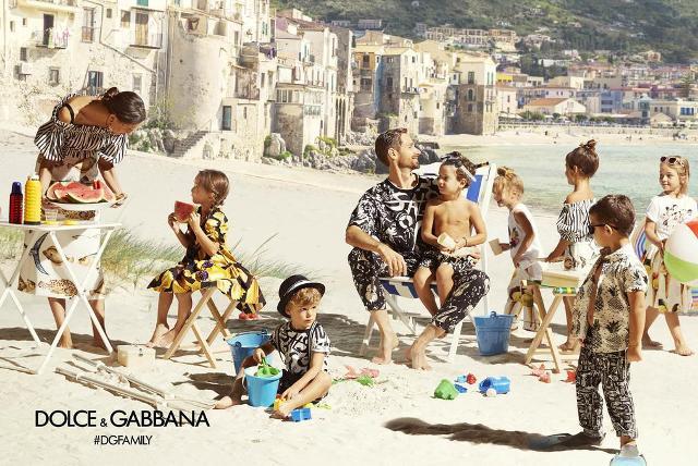 La moda di Dolce&Gabbana a Cefalù