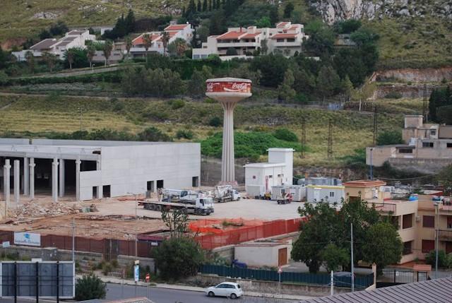 L'ex stabilimento Coca Cola a Tommaso Natale, a Palermo