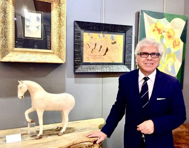 Giacomo La Rosa, critico e perito d'arte