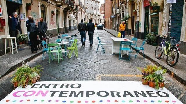 """A Catania gli imprenditori giapponesi dell'Hasekura Program scopriranno il progetto di rigenerazione urbana """"centrocontemporaneo"""" - ph. Chiara Di Salvatore"""