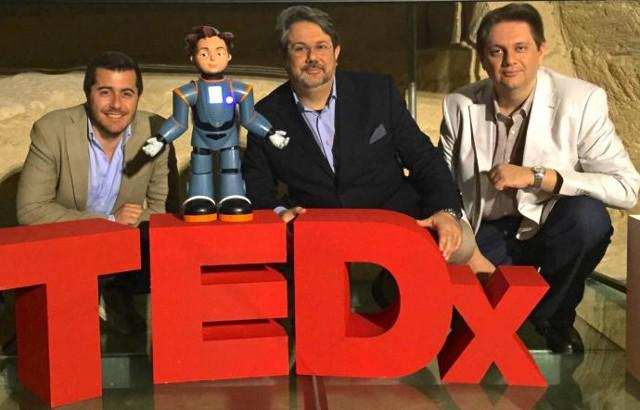 Marco e Daniele Lombardo e il cugino Giuseppe Pennisi, socio della Behaviour Labs