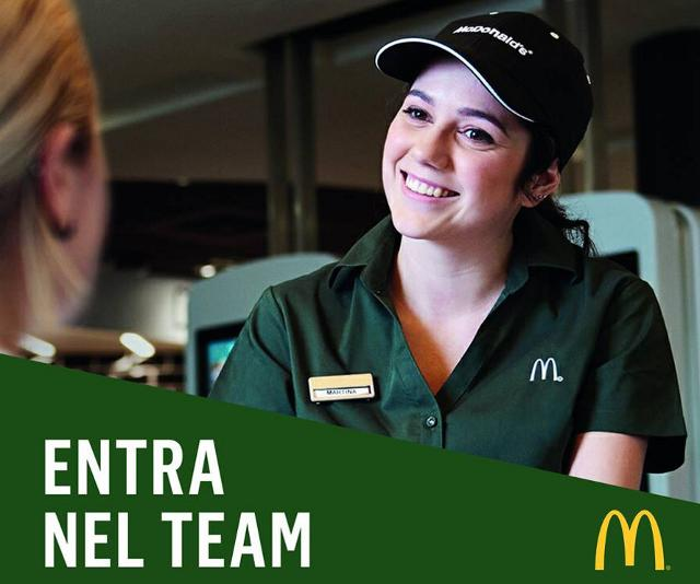 McDonald's cerca personale per le sedi di Palermo e Carini
