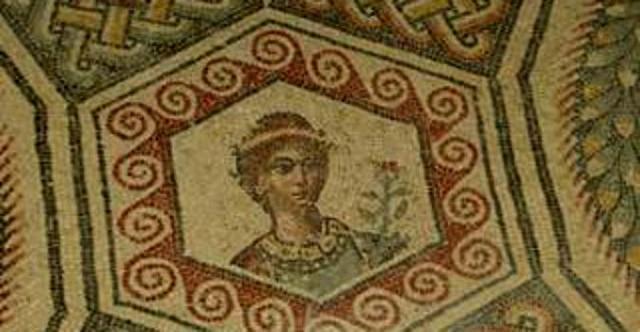Mosaico della Villa romana di Ramacca, in provincia di Catania