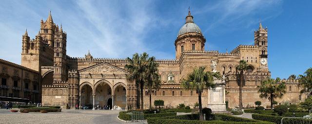 Vista panoramica della Cattedrale di Palermo - ph Kiban