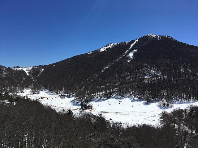 Monte Mufara (1865 m) e Piano Battaglia (1572 m) sulle Madonie in Sicilia