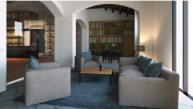 La sala dedicata all'archivio Ingham-Whitaker all'interno delle Cantine Pellegrino di Marsala