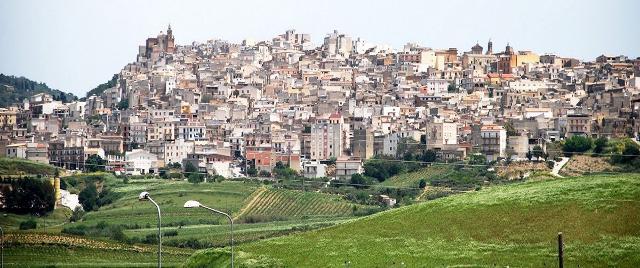 Panorama di Sambuca di Sicilia