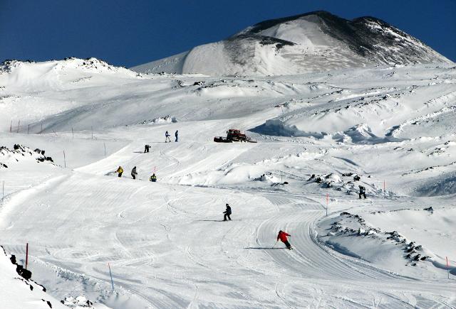 A Piano Battaglia, nonostante la neve, gli impianti di risalita sono rimasti chiusi