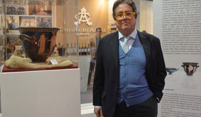 L'assessore regionale ai Beni culturali Sebastiano Tusa