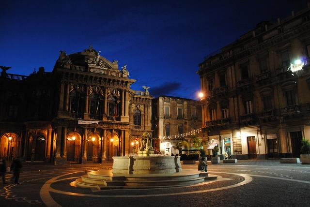 Teatro Massimo Bellini di Catania - Foto di Leandro Neumann Ciuffo