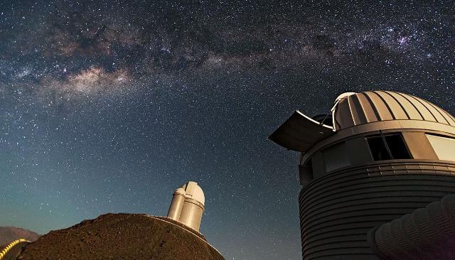 Telescopio sul Monte Mufara