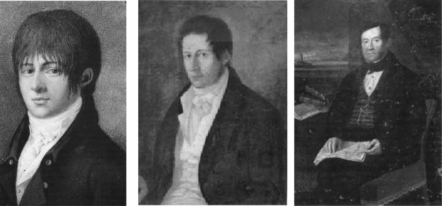 Tre ritratti di Benjamin Ingham